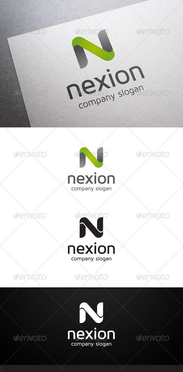Nexion N Letter Logo Letter logo, Logos and Fonts - new zulu formal letter format