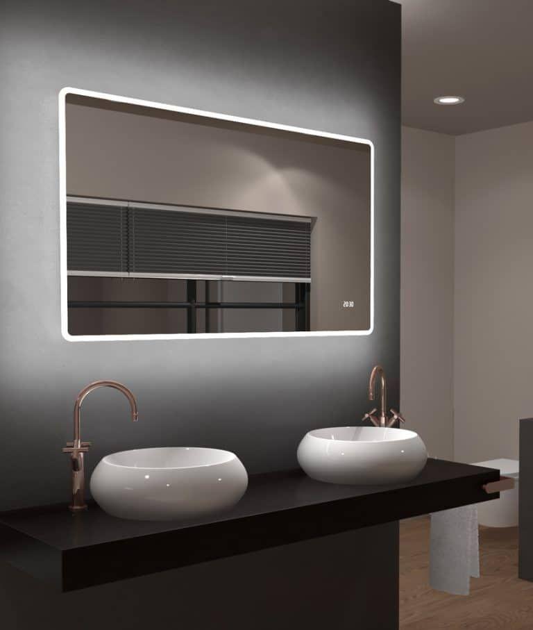 Großer Spiegel Badezimmer