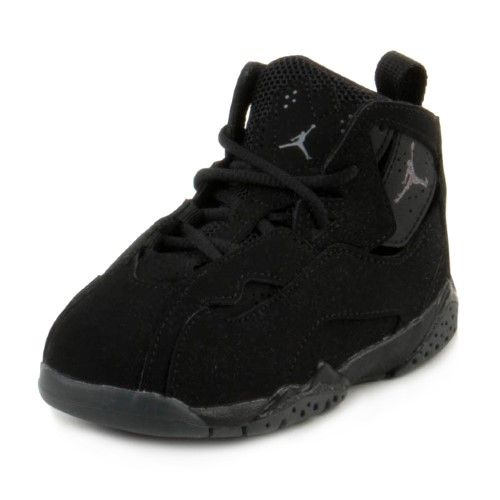 a0a6041e97afc Nike Baby Boys Jordan True Flight BT Black/Dark Grey 343797-013 Size ...