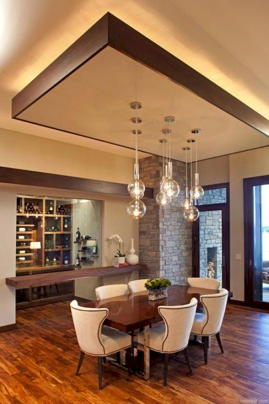 60 Modern Dining Room Decorating Ideas Ceiling Design Living
