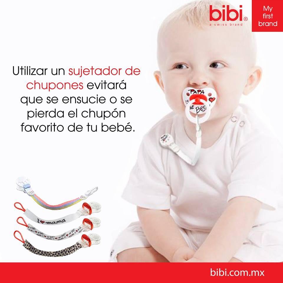 Los sujetadores para chupones de bibi México contienen un broche especial para que no se abra con facilidad, son libres de tóxicos, prácticos y divertidos. :)  www.bibi.com.mx