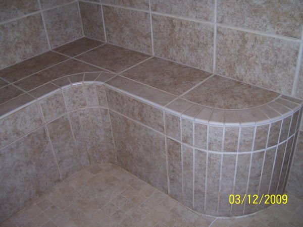 Superior Looking For A Floating Curved Shower Bench   Ceramic Tile Advice Forums    John Bridge Ceramic