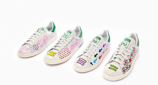 newest b8c57 bdaa1 Les Stan Smith signées Pharrell Williams pour adidas Originals  http   www.vogue