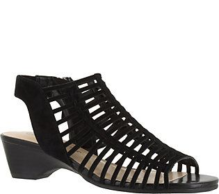 Bella Vita Leather Gladiator Sandals - Pacey