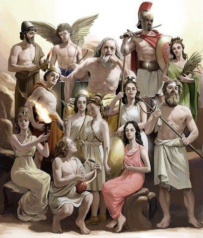 Olimpo Mitologia Grega Deuses Mitos Gregos Deuses Mitologicos