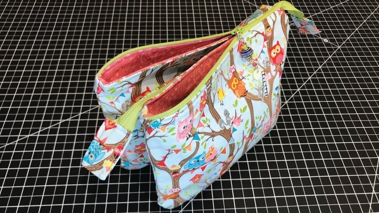 5 Pocket Zipper Bag Outside Bags 8 X 10 4 Outside 4 Inside Inside Bag 8 5 X 6 5 2 Outside 2 Inside 2 1 Diy Pouch No Zipper Zipper Bags Sewing Bag