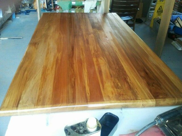 Restored Table Top, New Zealand Rimu
