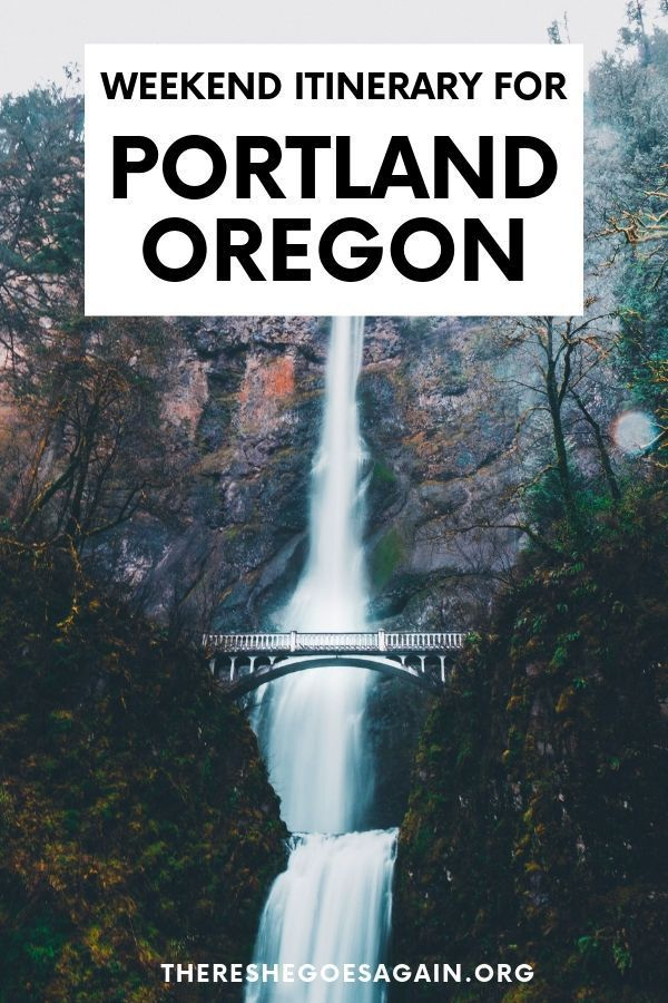 Portland in a Weekend: What to Do, See, + More #oregontravel
