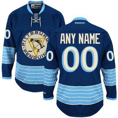 buy online c8371 24194 Reebok Pittsburgh Penguins Custom Premier Alternate Jersey ...