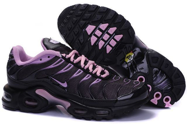 reputable site 6b19e befda Nike Air Max TN Womens Shoes black