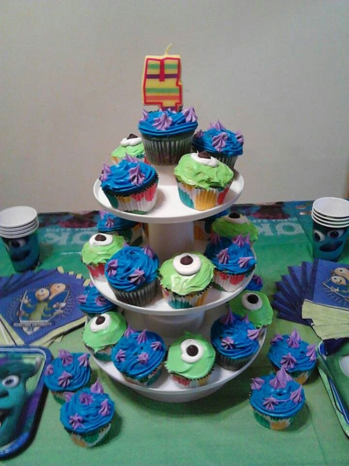 Monsters Inc birthday party | Big number 2! | Pinterest | Neon food ...