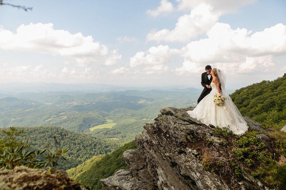Small Wedding Mountains North Carolina   Wedding reception ...