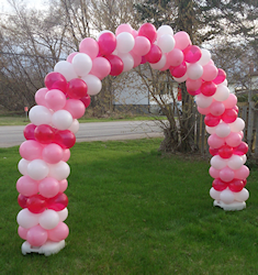 Custom Balloon Arch Decoration - Toronto #balloonarch Custom Balloon Arch Decoration - Toronto #balloonarch