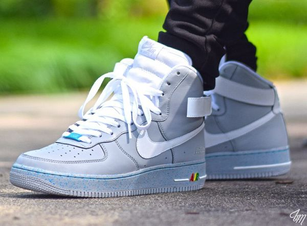 the best attitude 4c316 e8c0e Nike Air Force 1 High Marty Mcfly (1)