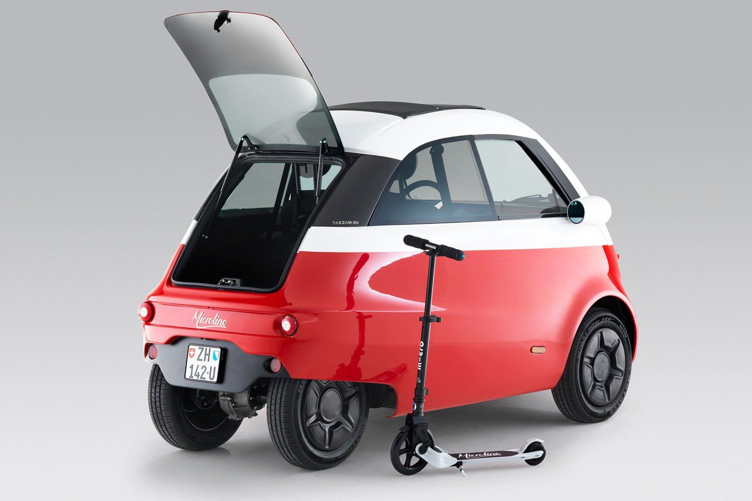 The Microlino A Front Loading Super Compact Vehicle From Swiss Mobility Company Micro Bmw Isetta Isetta City Car