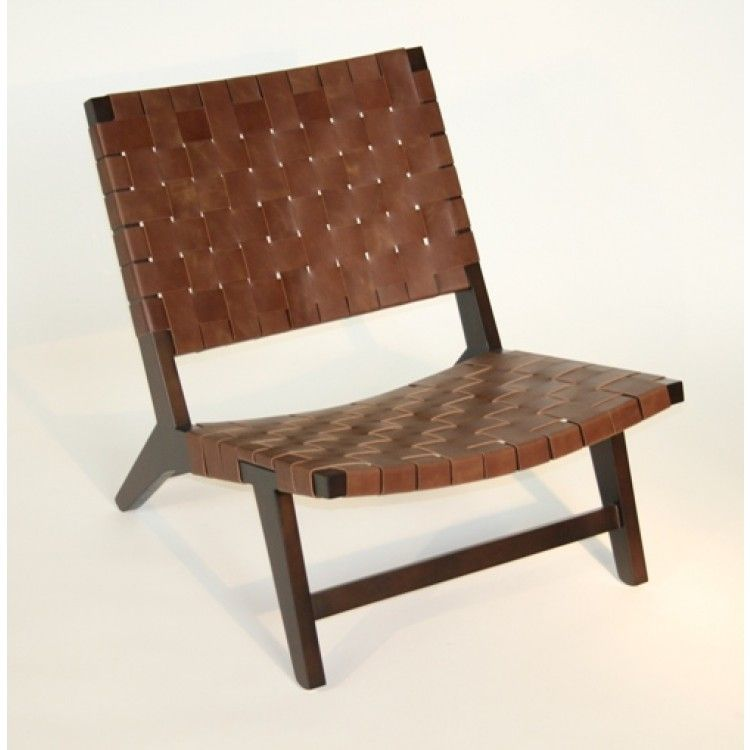 leather woven chair phenomenal lc47 brown strap lounge 2 kitchen ideas - Leather Lounge Chair