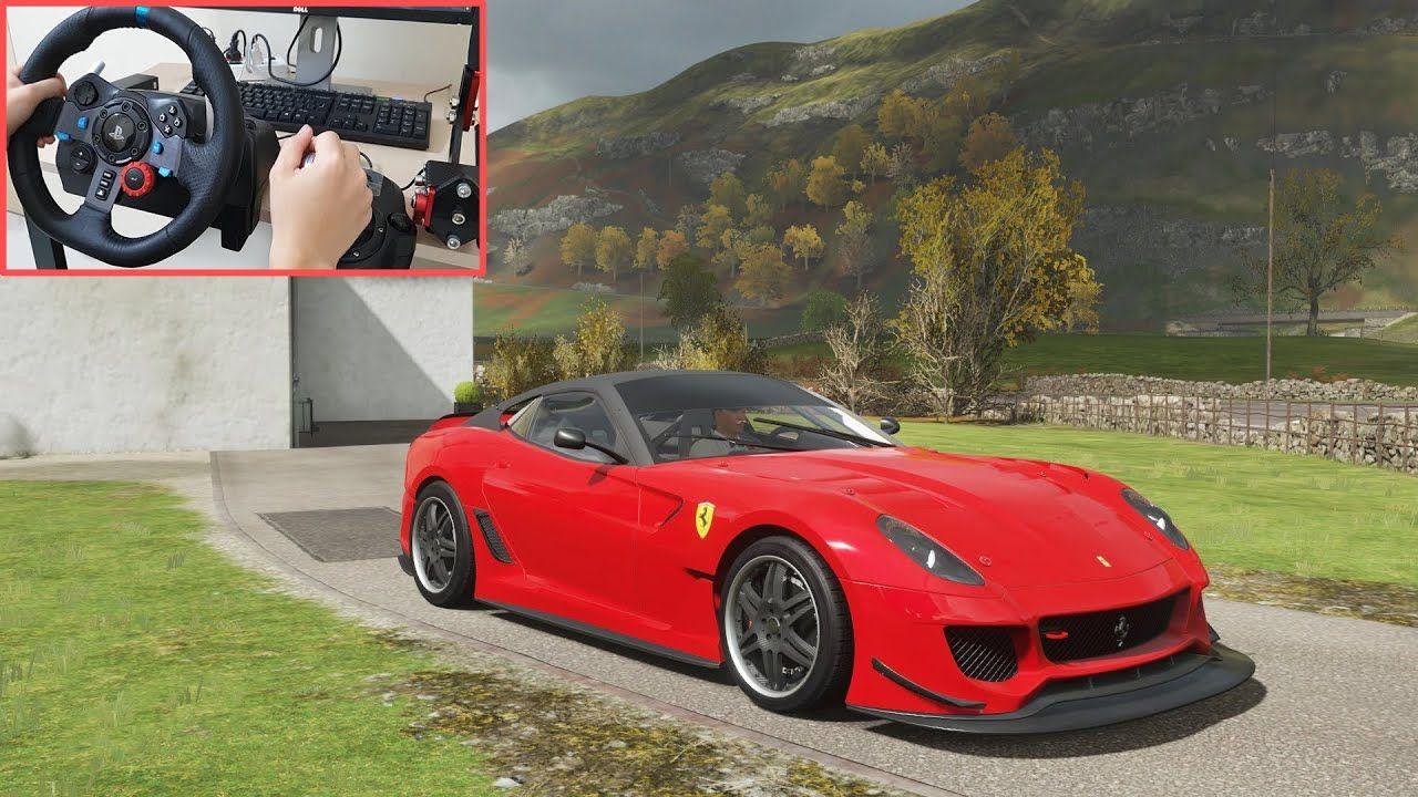 Ferrari 599xx Evo Forza Horizon 4 Logitech G29 Steering Wheel Game Forza Horizon 4 Forza Horizon Forza