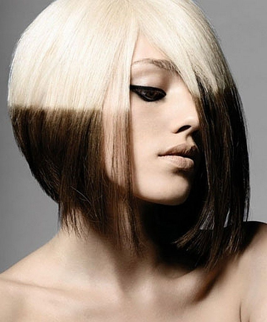 Interesting style very unique penumbra pinterest hair coloring