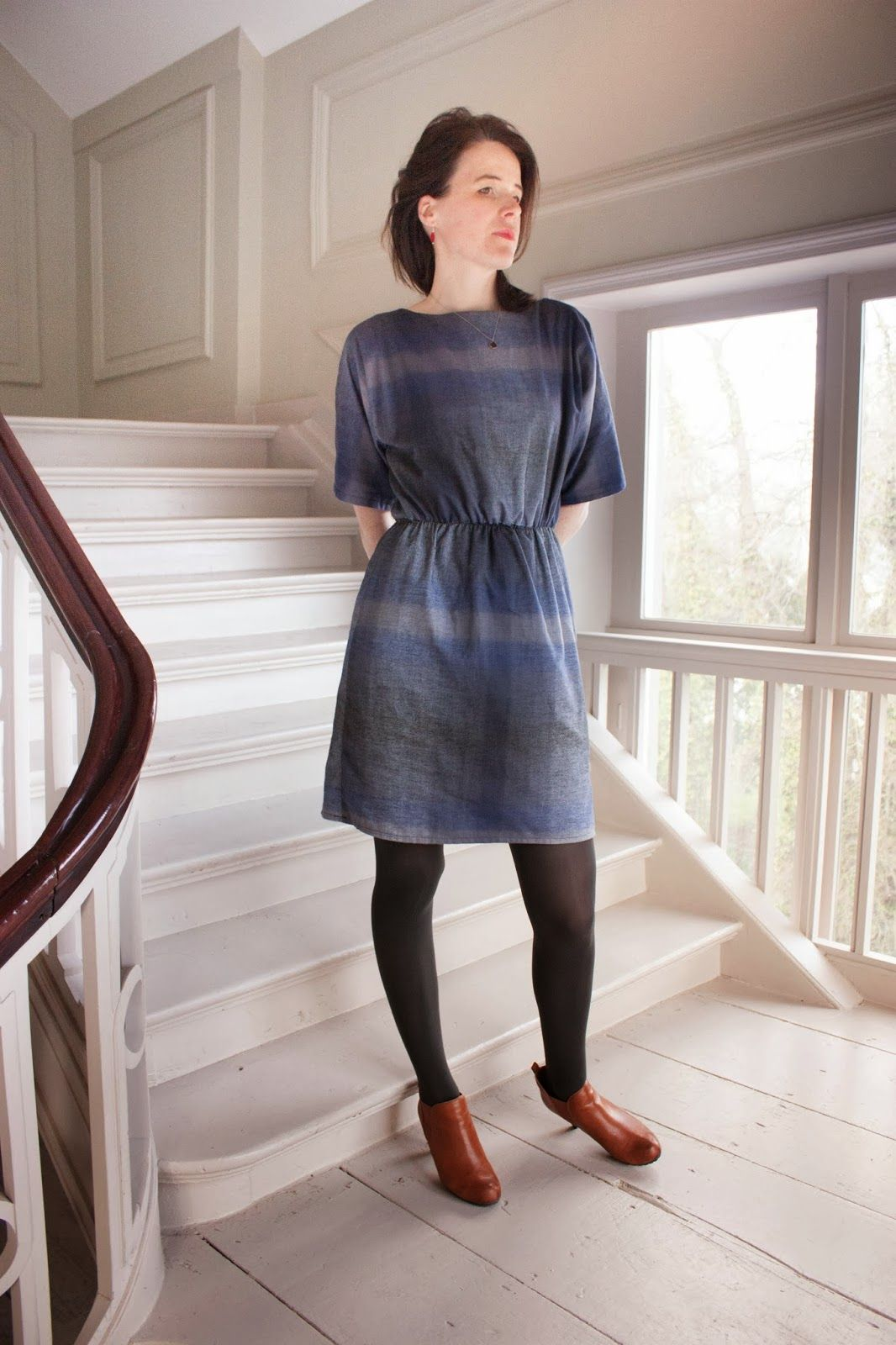 The pattern of truncated sleeves I found at Salme Sewing Patterns ...