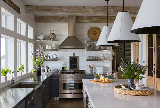 I love windows in a kitchen, I'd live without upper ...