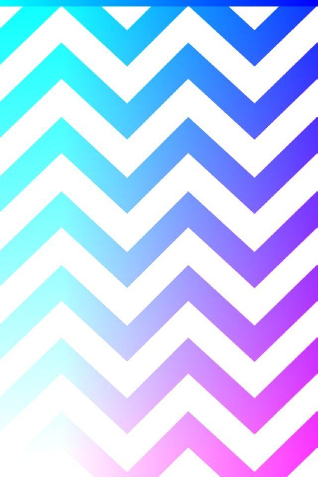 Light Blue Dark Purple And Kinda A Little Pink Chevron Wallpaper Pattern