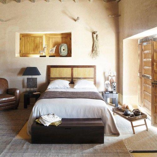 bout de lit coffre en manguier massif l 120 cm ideas for. Black Bedroom Furniture Sets. Home Design Ideas