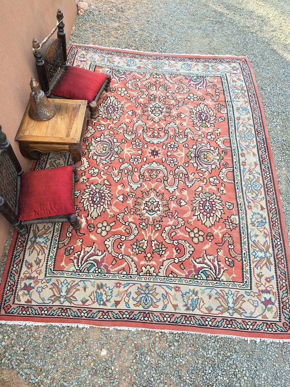 Balkan Balkans Romanian kilim rug large room size Romania old ...