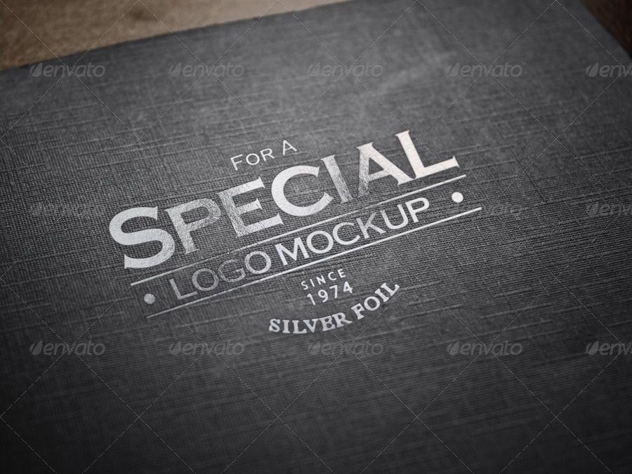 Logo Mockup Set 4 Logo design presentation, Blank