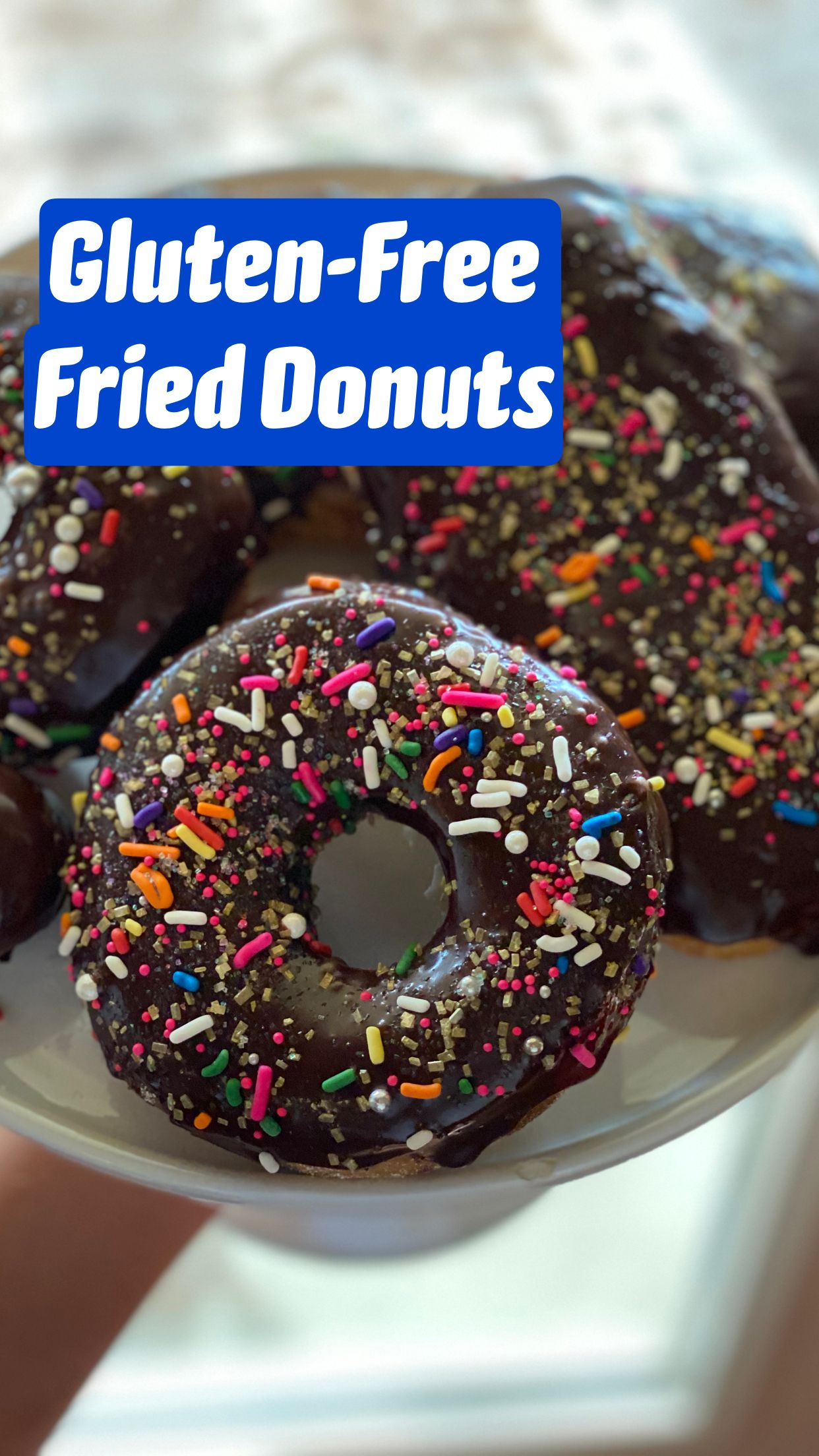 Gluten Free Fried Donuts This Vivacious Life Chandice Probst