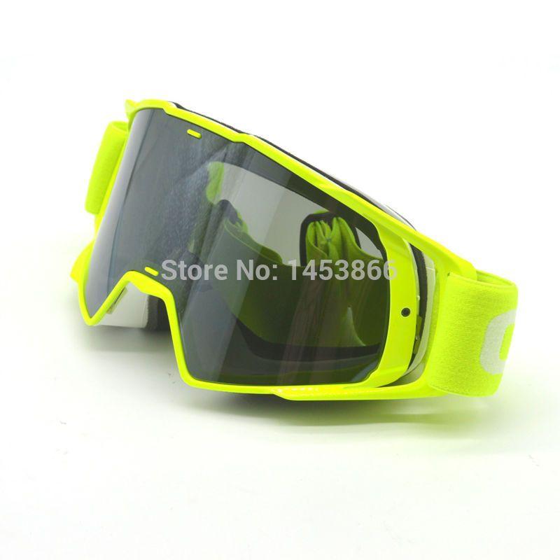 Motocross Goggles Moto Cross Dirtbike Motorcycle Helmets Goggles Silver Glasses Skiing Skating Eyewear Crg Brand Motocross Goggles Motorcycle Helmets Motocross
