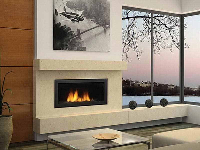 modern gas fireplaces designs ideas with regular design