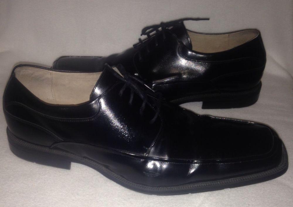 Florsheim Mens Black Dress Shoes Size 16 D Florsheim Wingtip