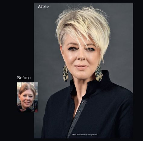 before and after …  bettjemans hairdressers auckland