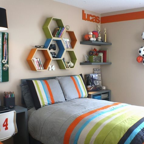 Simple Teen Boy Bedroom Ideas for Decorating | nathan | Pinterest ...