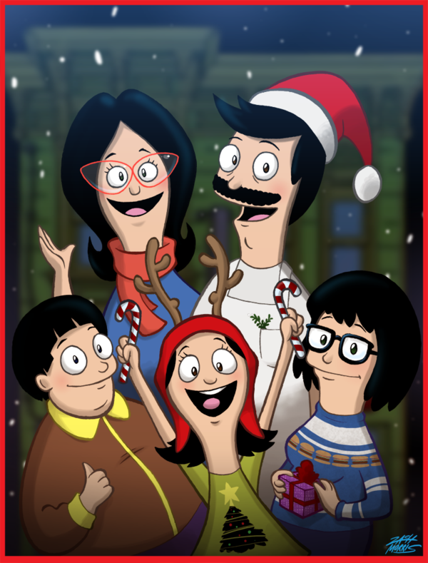 A Belcher Family Christmas by WillDrawForFood1 | Bob's Burgers ...