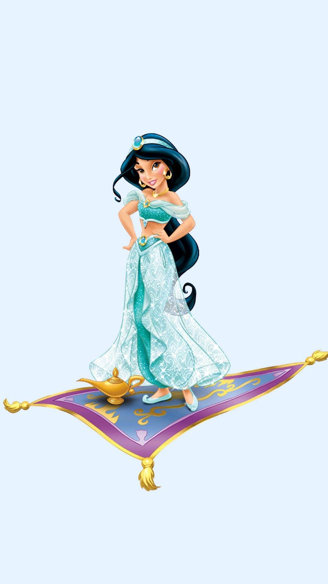 Jasmine No Tapete Voador Junto Com A Lampada Magica Com Imagens
