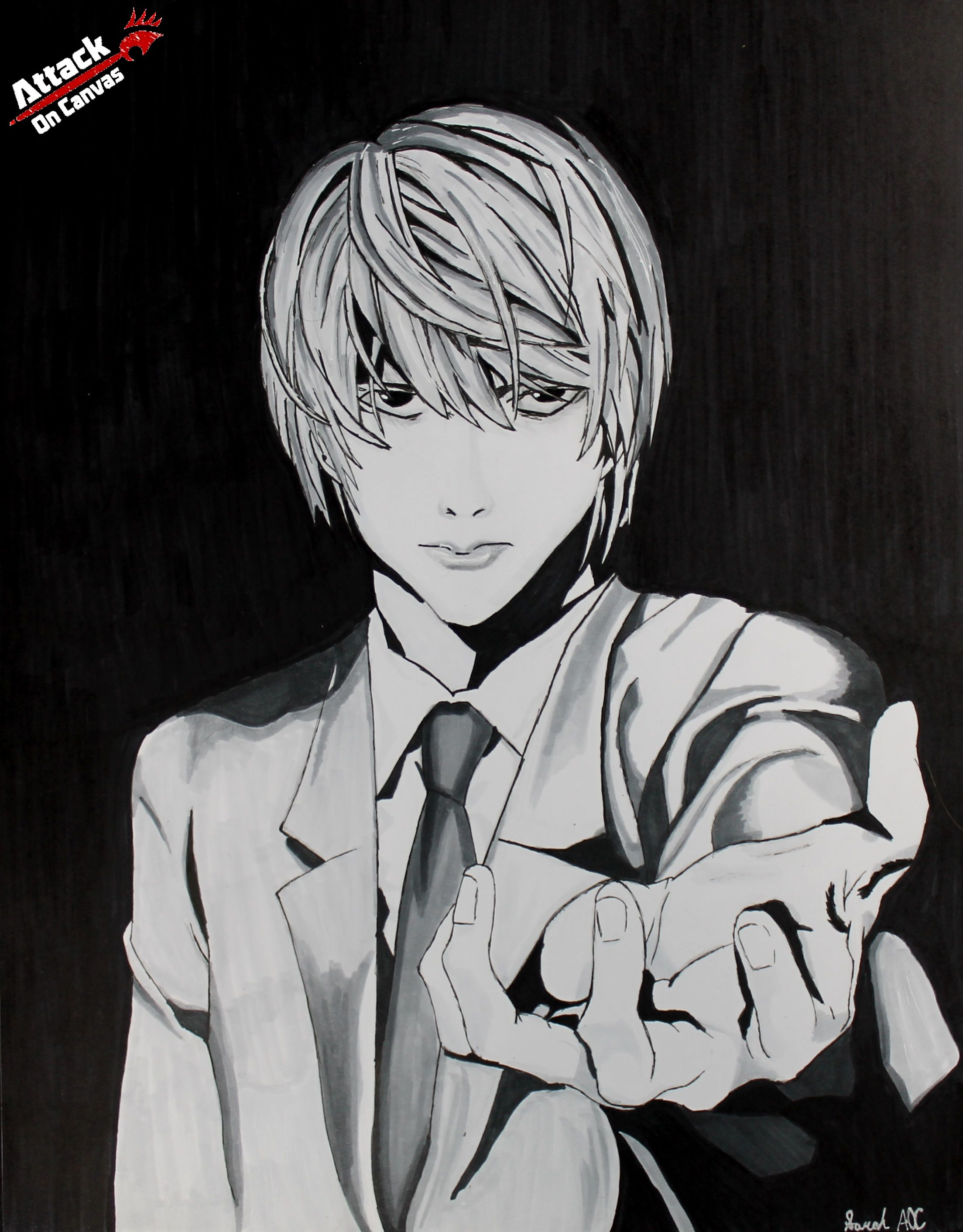 Drew Light Yagami from Death Note (AKA Kira;p) Click here