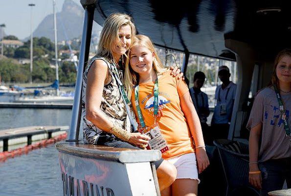 The Dutch Royal Family in Rio de Janeiro, Brazil