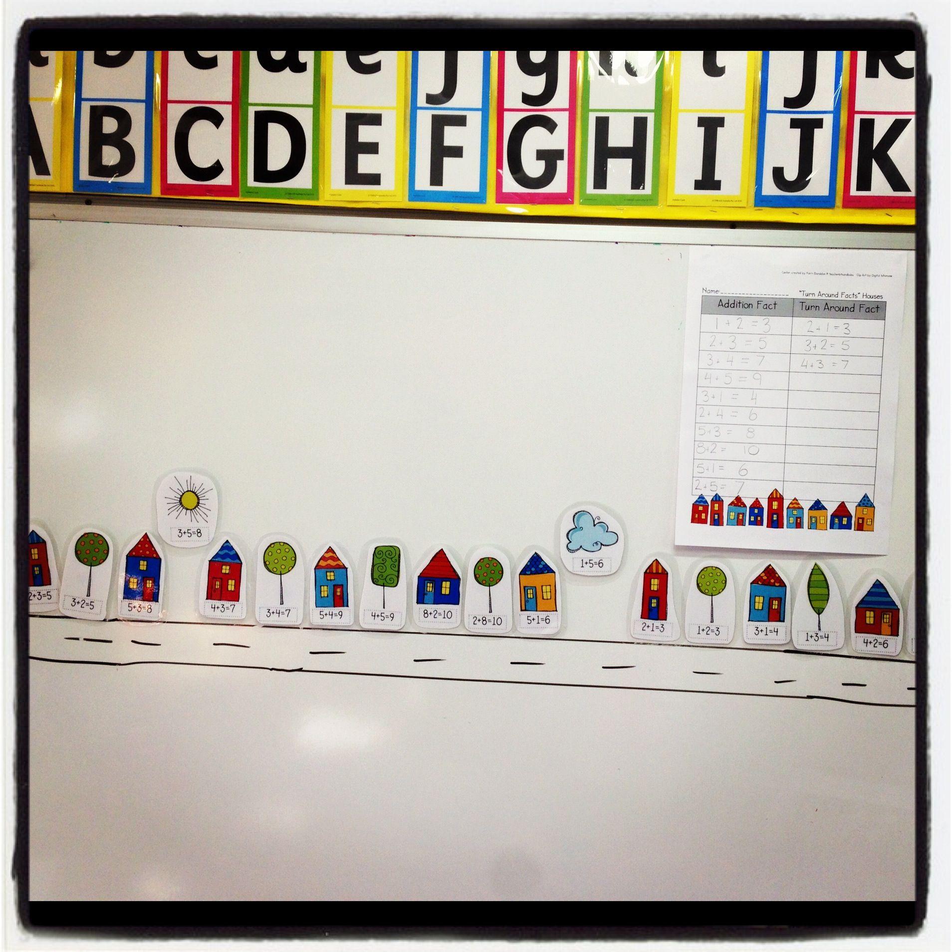 Mathematics Addition Turn Arounds Have Children Pick The