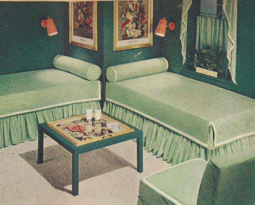 25 Mid Century Bedroom Design Ideas: 1950s Bedrooms, Mid Century Bedrooms