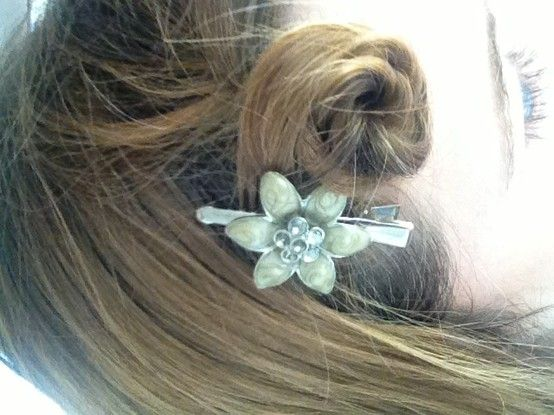 Hair Rosette Twist And Clip Iphone Pictures Beautiful How To