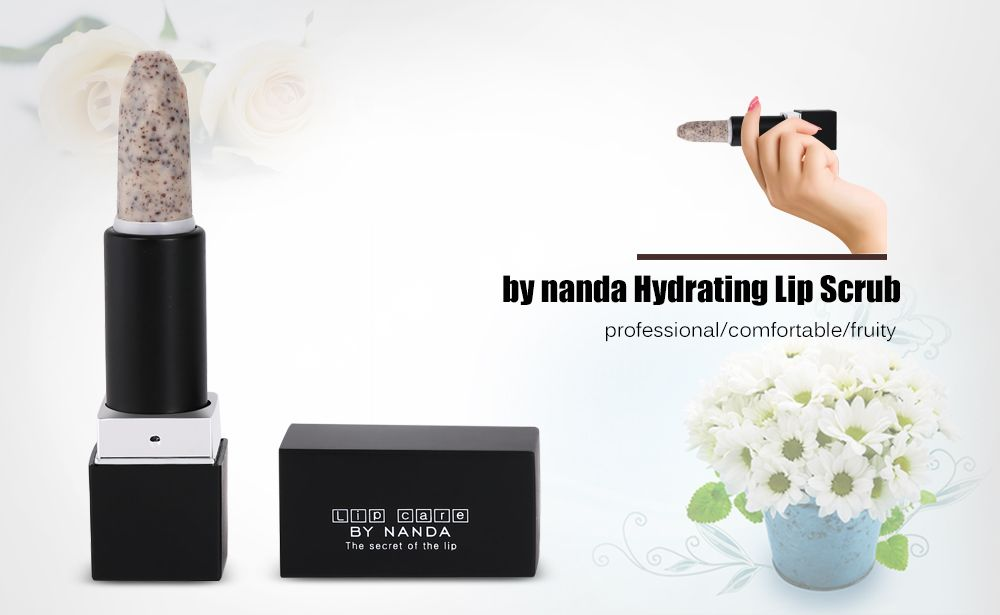 by nanda Hydrating Lip Scrub Professional Care Tool