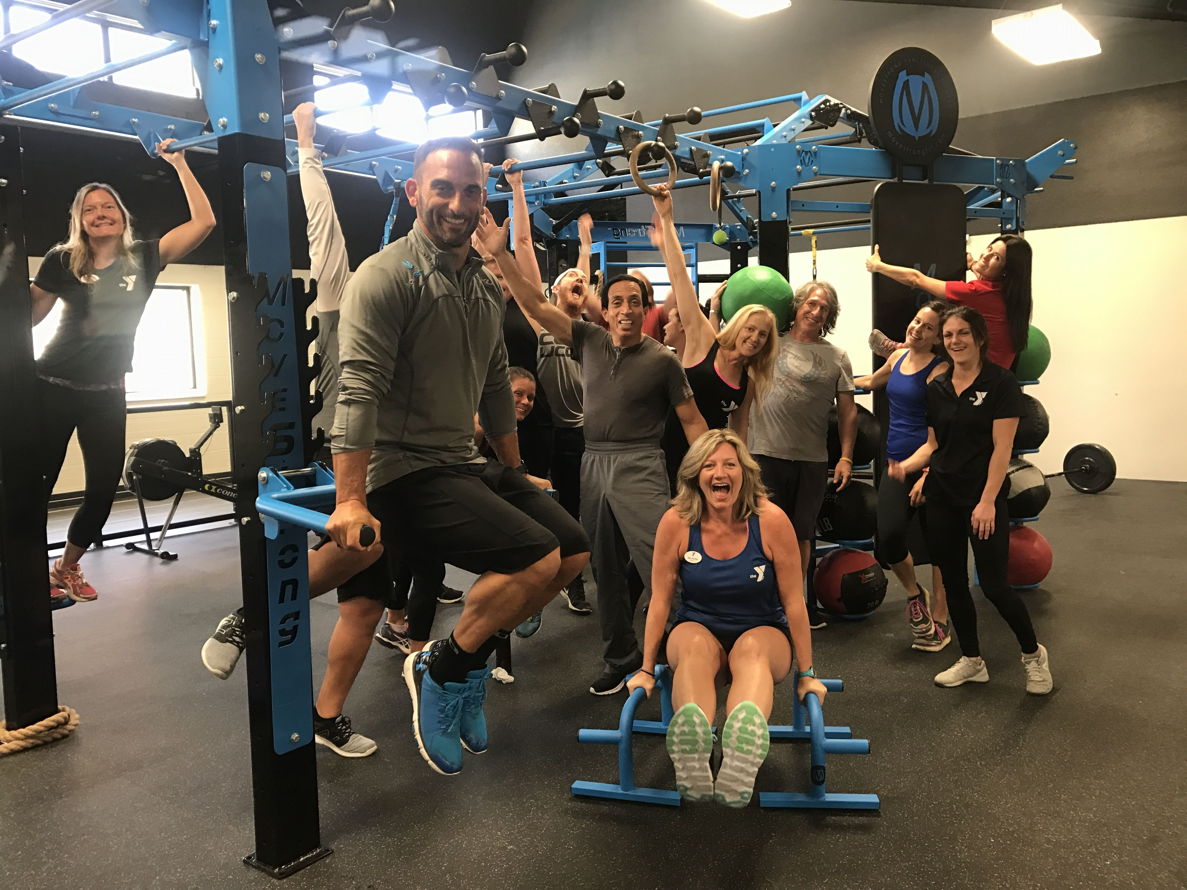 Tampa Area Ymca Staff Training For Movestrong Functional Fitness To Launch New Training Amenity For Members Staff Training Ymca Golds Gym