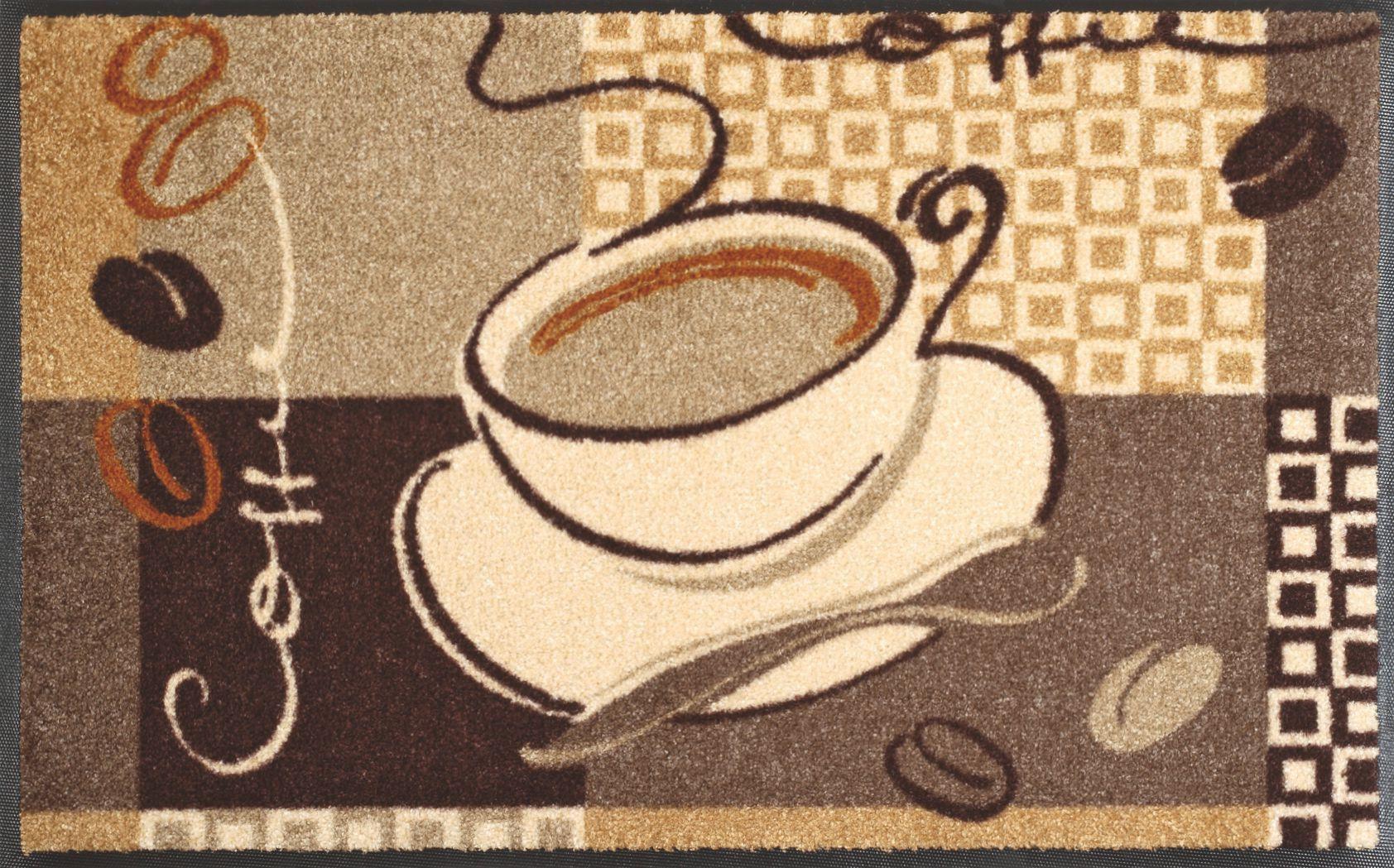 wash+dry Fußmatte Coffee Küchenteppich | Küche - Kitchen | Pinterest ...