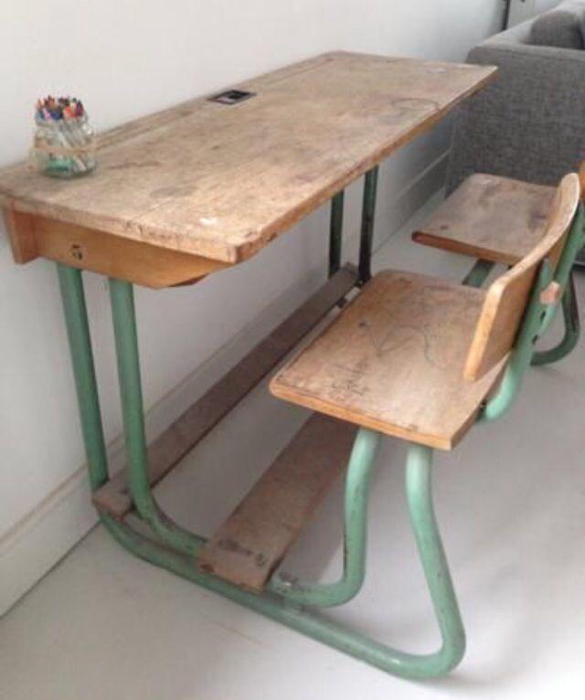 Brocante Kinder Bureau.Vintage Schoolbank Brocante Dingen Pinterest Room Kids