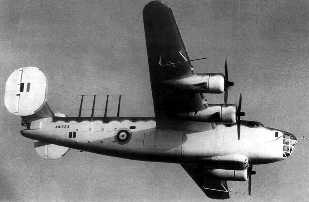 United States' B24 Consolidated Liberator Mk I. RAF