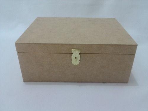 Caixa Mdf 25x20x10 C/ Dobradiça E Suporte Cadeado R$ 13,00 reais cada. Melhor Preço do Brasil!