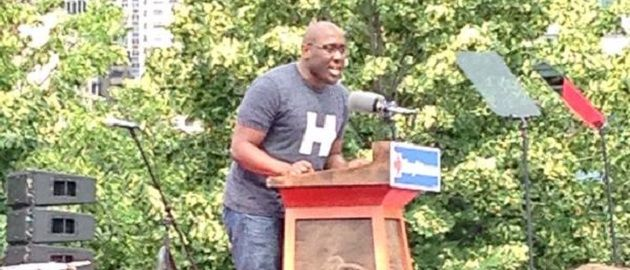 Hillary Campaign Launch Features Staffer That Said 'F U Republicans'