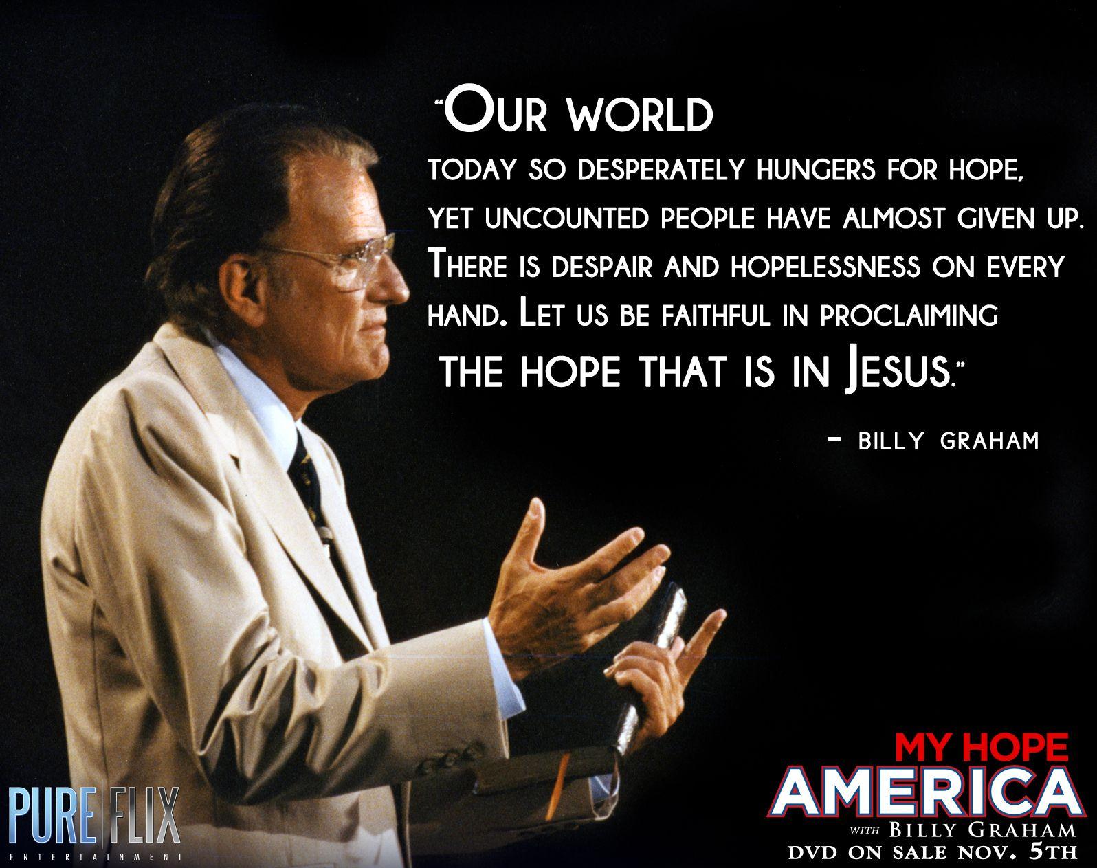 Billy Graham - My Hope America -