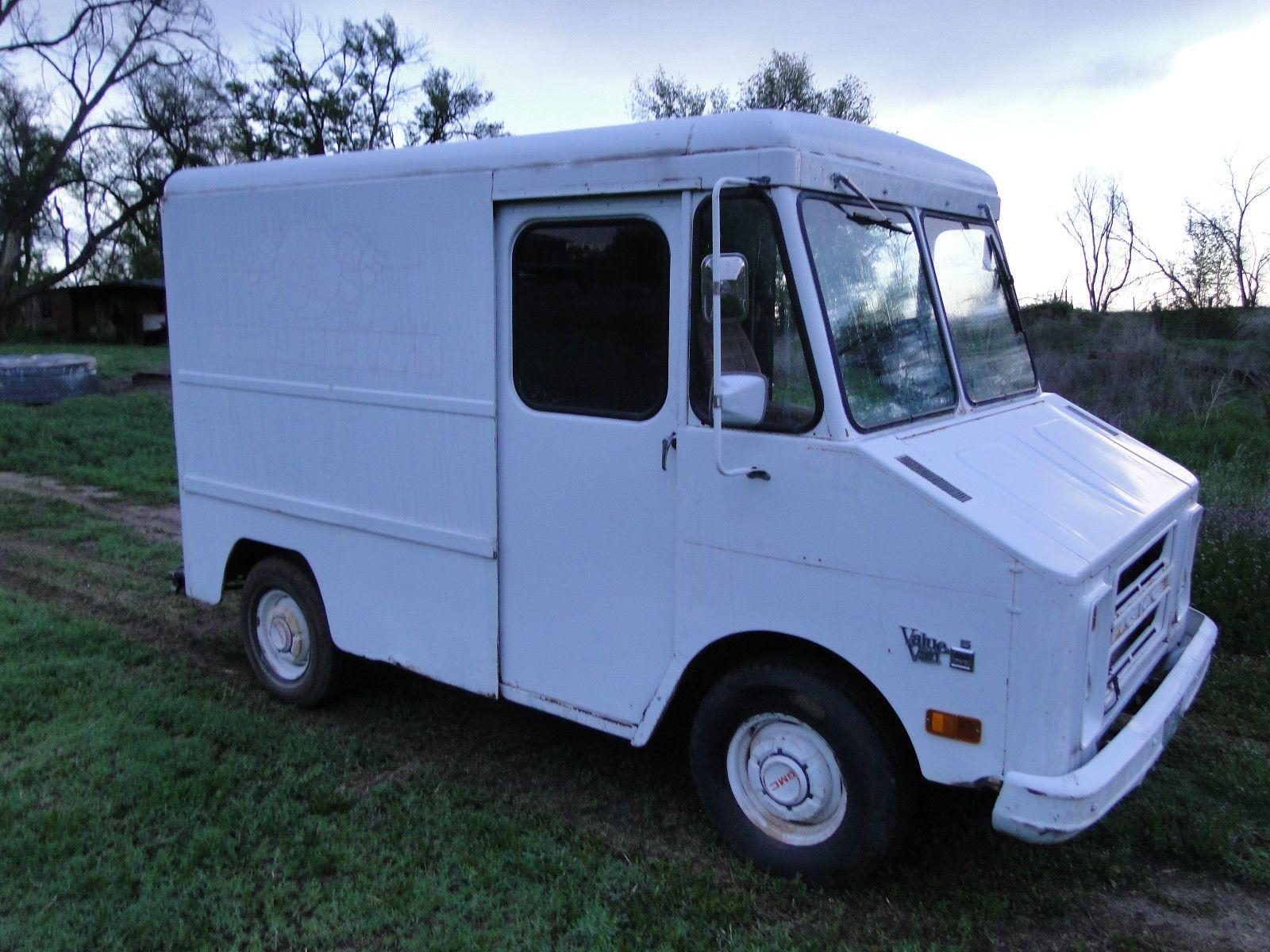 1972 Chevrolet P30 Short Step Van Ice Cream Truck Hot Rat Rod Shop